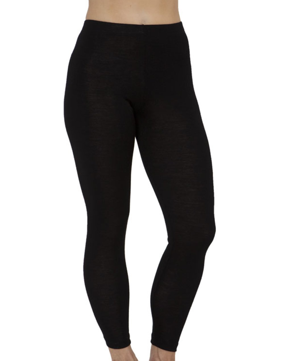 Thermal Underwear - Pure Merino Wool 200gsm Legging (Black)