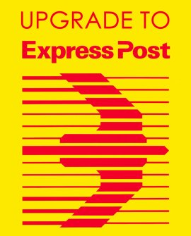 Upgrade to EXPRESS DELIVERY (in addition to flat shipping rate)