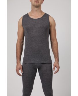 Mens Wool Blend Thermal Tank